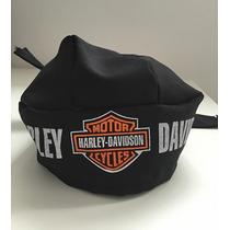 Lenço Bandana Harley Davidson + Chaveiro