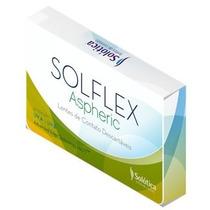 Lentes De Contato Descartavel Incolor Solflex Frete Gratis