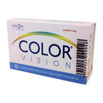 Lente Contato Colorida Color Vision Coopervision C/ Nf
