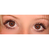Olhos Cosplay - Lens Brown Sem Grau - 14,5mm Pronta Entrega