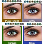 Lente Contato Color Disponivel Azul Verde Mel E Cinza+estojo