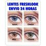 Lentes De Contato Freshlook Anual 1 Par + 1 Estojo Gratis