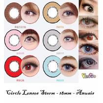 Olhos Cosplay - Circle Lens Storm 18mm - Pronta Entrega !!