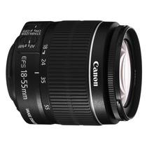 Lente Canon Efs 18-55mm Autofocus E Stabilizer + Filtro Uv