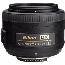 Lente Nikon Af-s 35mm F/1.8g Dx Nikkor
