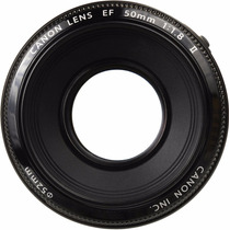 Lente Canon Ef 50mm F/1.8 Com Brinde Filtro Pl 52mm