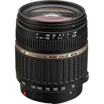 Objetiva Zoom Para Nikon 18-200mm Macro Autofocus Digital