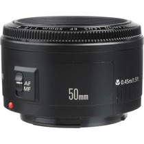 Lente Canon Ef 50mm F/1.8 Ii +pronta Entrega +nfe