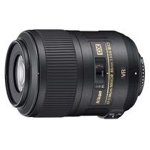 Lente Nikon 85mm Vr Af-s Dx F/3.5g Micro Ed Macro