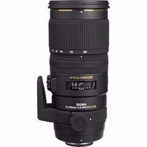 Lente Sigma 70-200mm F2.8 Ex Dg Apo Os Hsm Canon/nikon + Uv