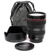 Lente Canon Nova 24-105mm F/4l Is Usm Mercadolider Platinum