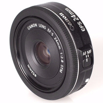 Lente Canon Ef-s 24mm F/2.8 Stm Grande Angular C/ Nf E Gar.