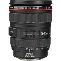 Lente Canon Ef 24-105 F/4i Is Usm Ultrasonic+filtro Uv Em Sp