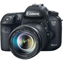 Câmera Canon Eos 7d Mark Ii Com Lente Ef-s 18-135mm F35-56i