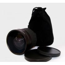 Lente Super Angular 0.21x Fish Eye Olho De Peixe 58mm
