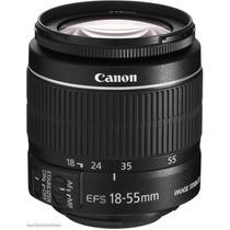 Lente Canon Ef-s 18-55mm F/3.5-5.6 Is T3i T5i T2i 60d 70d +