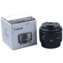 Lente Canon Ef 50mm F/1.8 Ii Para Câmeras Digitais Eos F1.8