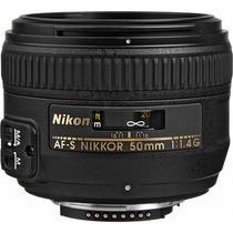 Nikon Lente Autofoco Af-s Nikkor 50mm F/1.4g