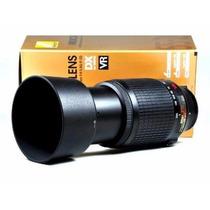 Lente Nikon Af-s Dx Nikkor 55-300mm F/4.5-5.6g Ed Vr Zoom Rs