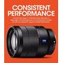 Sony Lente Vario- Tessar T* Fe 24-70mm F/4 Za Oss 24-70mm E