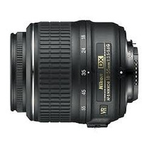 Lente Nikon Af-s Dx 18-55mm F/3.5-5.6g Vr Estabilizador