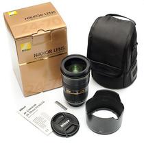 Lente Nikon 24-70mm F/2.8 G Ed Com Garantia Mercadoplatinum