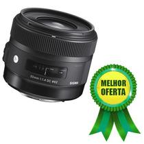 Sigma 30mm F/1.4 Dc Hsm Art P/ Nikon 35mm 28mm