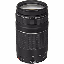 Canon Lente Objetiva Ef 75-300mm F/4-5.6 Iii Envio Imediato