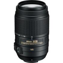 Lente Nikon 55-300mm F/4.5-5.6g Af-s Ed Vr Nikkor