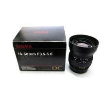 Lente Nikon Sigma Objetiva Af 18-50mm F3.5-5.6 Dc Macro