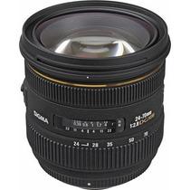 Lente Sigma 24-70mm F/2.8 If Ex Dg Hsm P/ Nikon + Filtro Uv