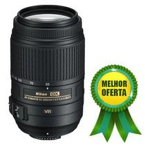 Nikon Af-s Nikkor 55-300mm F/4.5-5.6g Ed Vr Objetiva Lente