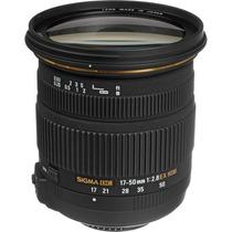 Lente Sigma 17-50mm F/2.8 Ex Dc Para Nikon