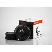 Lente Canon 50mm Ef 50mm F/1.8 Ii