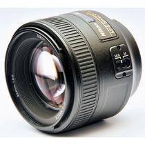 Lente Nikon 85mm F/1.8g Af-s - Novo - Pronta Entrega - Nf