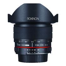 Lente Rokinon Canon Hd8m-c 8mm F/3.5 Hd Olho Peixe +parasol