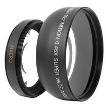 Lente Macro Grande Angular 0.45x Nikon D7000 67 Mm 18-105 Mm