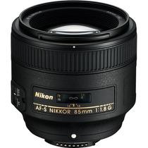 Lente Nikon 85mm F/1.8g Af-s Nikkor