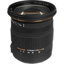 Lente Sigma Canon 17-50mm F/2.8 Ex Dc Os Hsm Estabilizador
