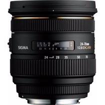 Lente Sigma 24-70mm F2.8 - Canon Ou Nikon - Lacrada