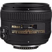 Nikon Lente Autofoco Af-s Nikkor 50mm F / 1.4g
