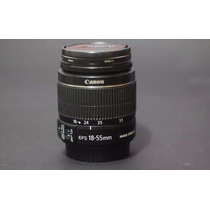 Objetiva Lente Canon Ef-s 18-55mm F/3.5-5.6 Is