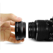 52mm Grande Angular + Macro + Disparador - Nikon