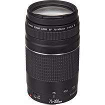 Lente Canon Ef 75-300mm F/4-5.6 Iii Autofoco Garantia Canon