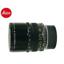Lente Leica 75mm F/2 Asph Apo-summicron-m Na Caixa Original