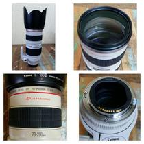 Lente Canon 70-200 Ef F/2.8 L