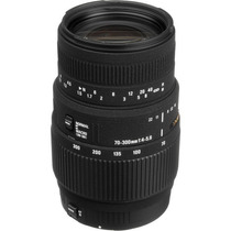 Lente Sigma 70-300mm F/4-5.6 Dg P/ Canon + Nota Fiscal