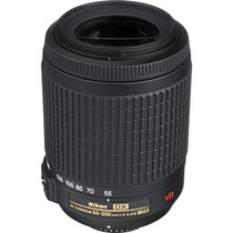 Lente Nikon 55-200mm F/4-5.6g Af-s Ed Vr Dx Nikkor