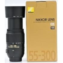 Lente Nikon 55-300mm Af-s Dx F/4.5-5.6g Ed Vr