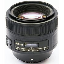 Nikkor Af-s 85mm F/1.8g Garantia/pronta Entrega